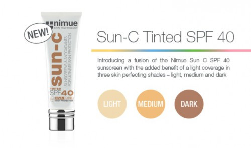 Nimue Tinted Sun C SPF 40 Sunscreen Protection